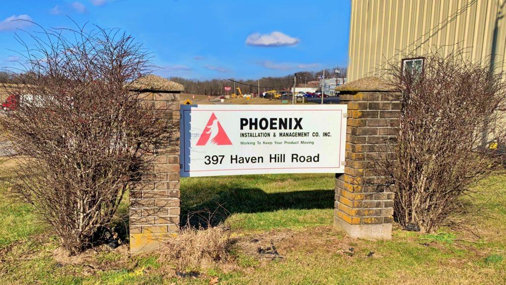 Phoenix Installation Office Sign